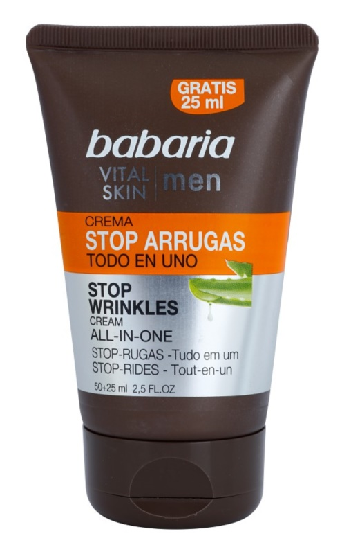 Babaria Vital Skin crème hydratante anti-rides