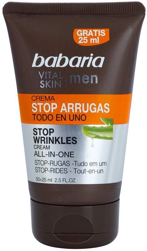 Babaria Vital Skin Moisturising Cream with Anti-Wrinkle Effect