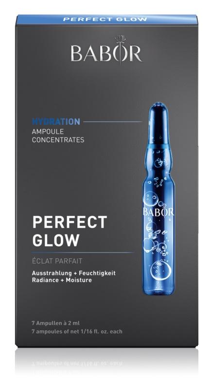 Babor Ampoule Concentrates Hydration konzentriertes Serum für hydratisierte und strahlende Haut