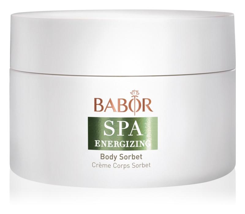 Babor Spa Energizing Körpercreme mit kühlender Wirkung
