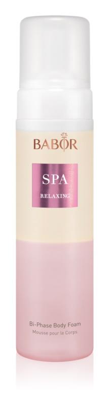 Babor Spa Relaxing Zweiphasen-Schaum für den Körper