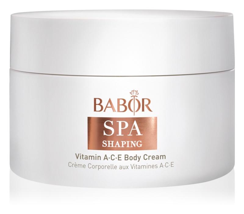 Babor Spa Shaping Körpercreme gegen Hautalterung