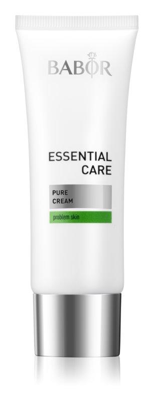 Babor Essential Care leichte Creme für Unvollkommenheiten wegen Akne Haut