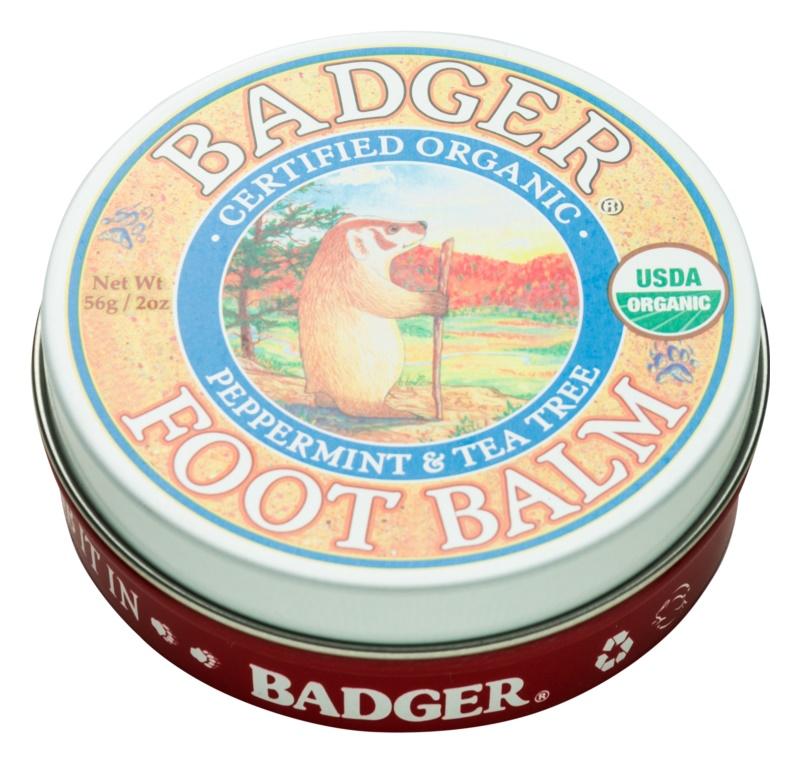 Badger Balm głęboko nawilżający balsam do suchych i popękanych stóp
