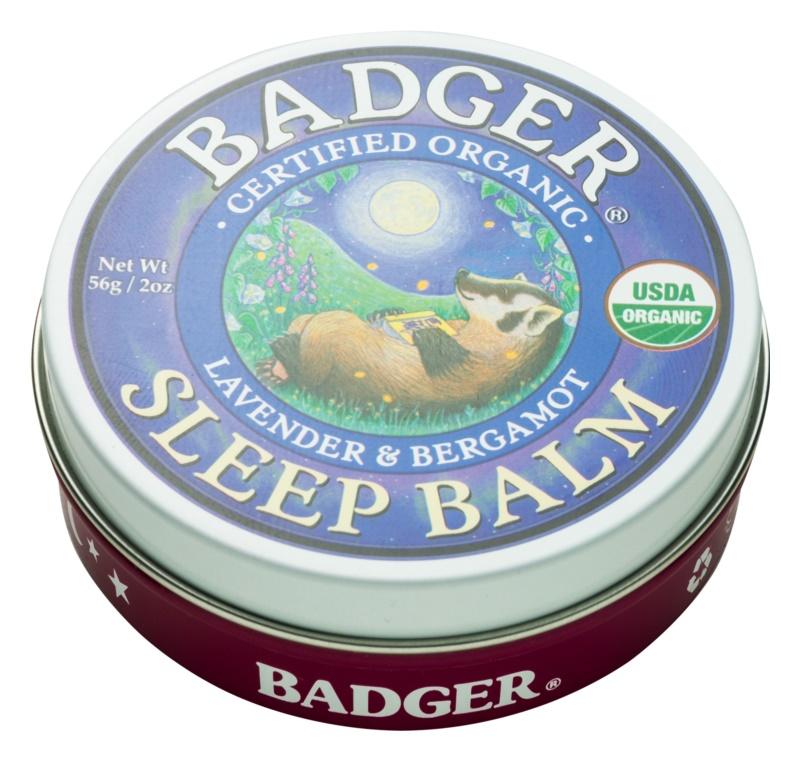 Badger Sleep Calm Sleep Balm