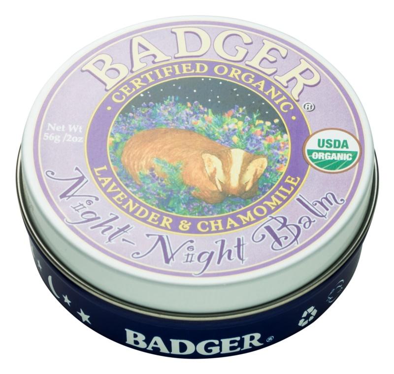 Badger Night Night Balsam für ruhigen Schlaf
