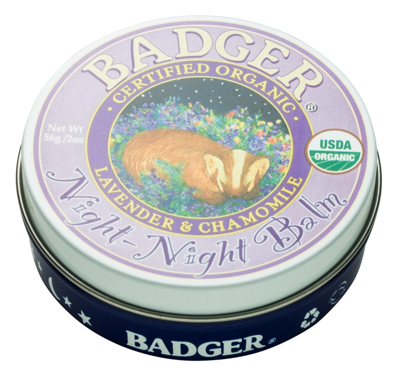 Badger Night Night baume détente sommeil