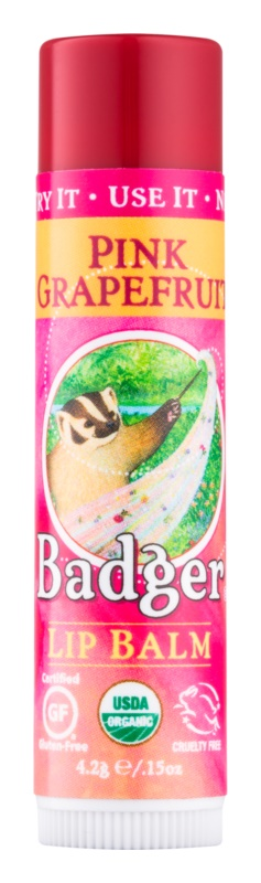 Badger Classic Pink Grapefruit balzam na pery