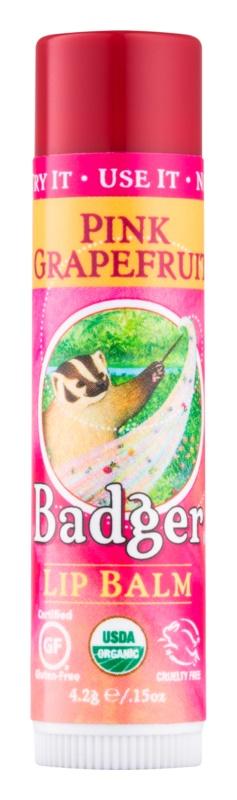Badger Classic Pink Grapefruit balzam za ustnice