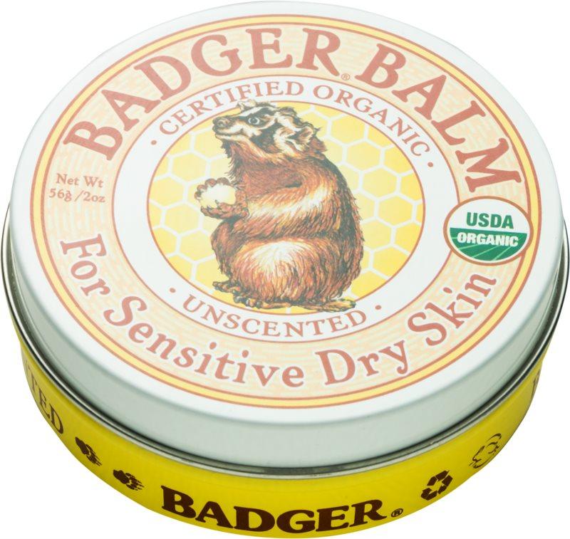 Badger Balm balsam do rąk do skóry wrażliwej