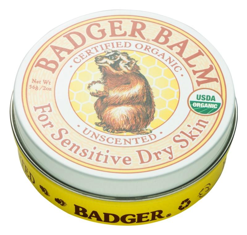 Badger Balm balsam pentru maini pentru piele sensibila