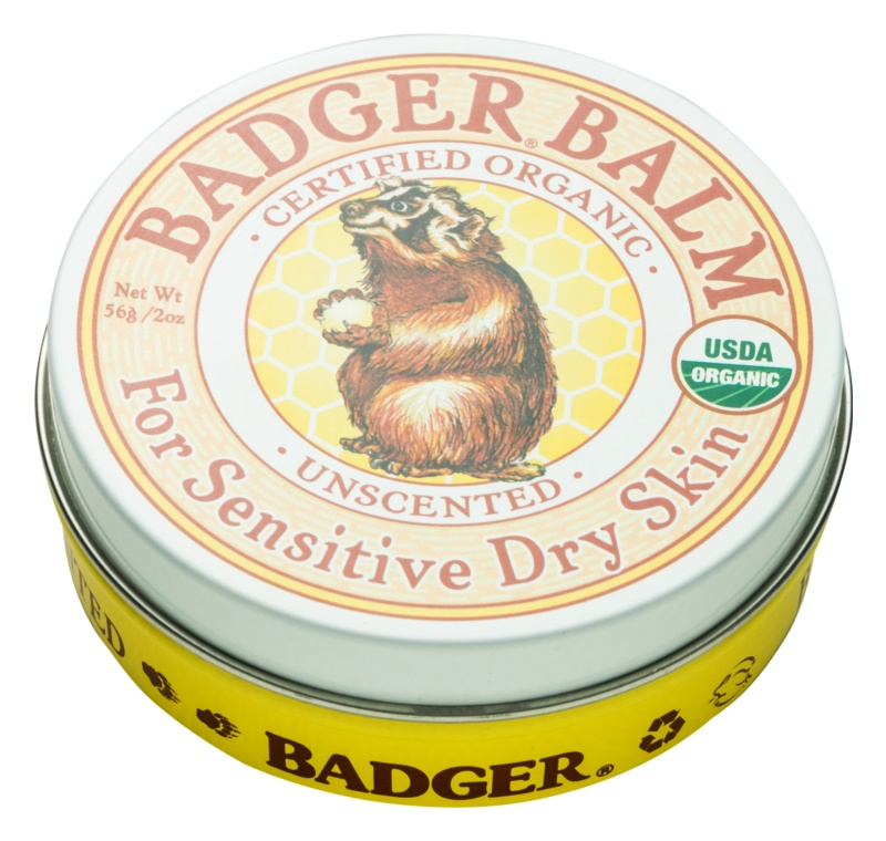 Badger Balm Hand Balm For Sensitive Skin