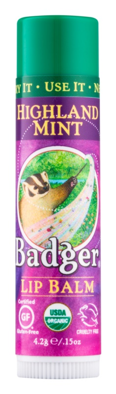 Badger Classic Highland Mint balzám na rty