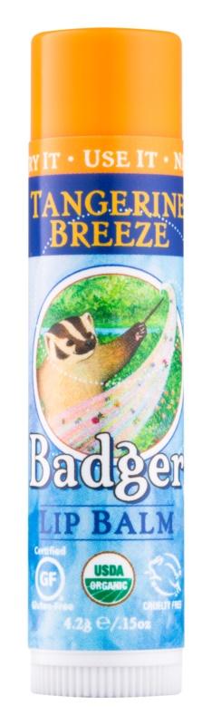 Badger Classic Tangerine Breeze balzám na rty
