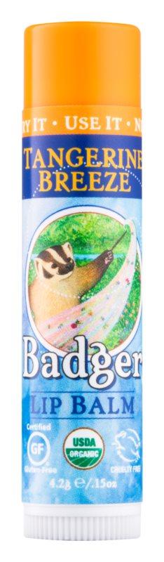 Badger Classic Tangerine Breeze baume à lèvres