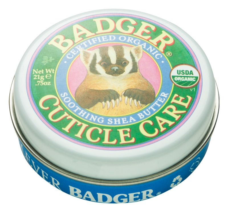 Badger Cuticle Care Balm for Hands and Nails