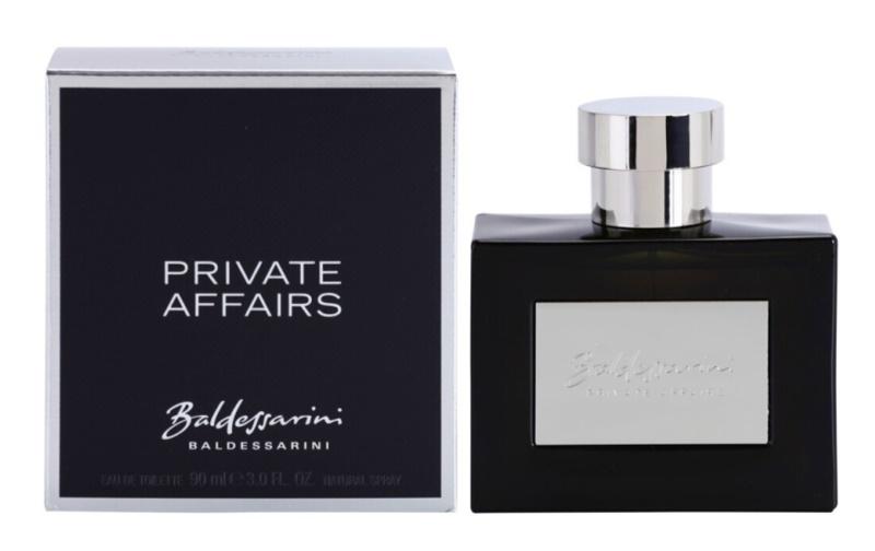 Baldessarini Private Affairs Eau de Toilette voor Mannen 90 ml