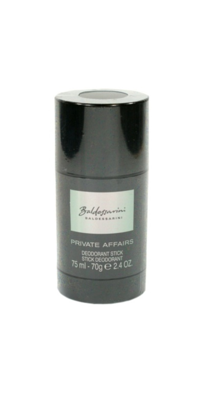 Baldessarini Private Affairs deodorante stick per uomo 75 ml