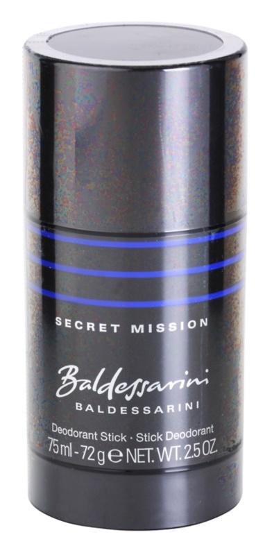 Baldessarini Secret Mission dédorant stick pour homme 75 ml