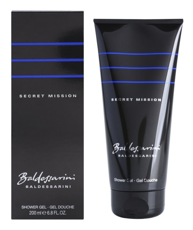 Baldessarini Secret Mission gel za tuširanje za muškarce 200 ml