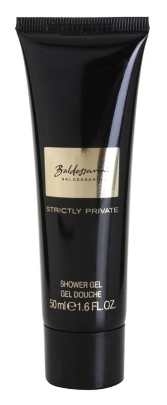 Baldessarini Strictly Private żel pod prysznic tester dla mężczyzn 50 ml