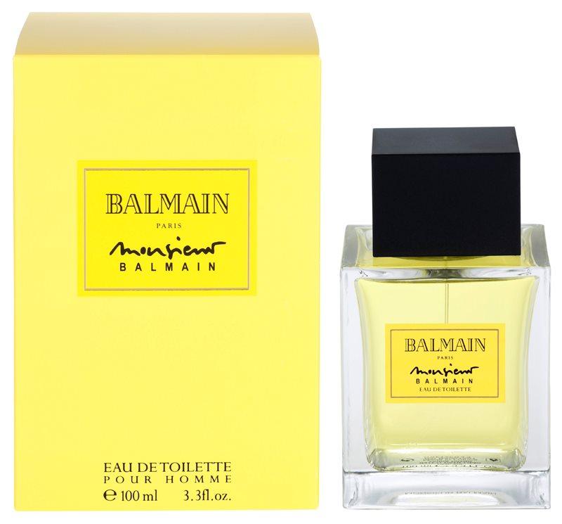 Balmain Monsieur Balmain eau de toilette para hombre 100 ml