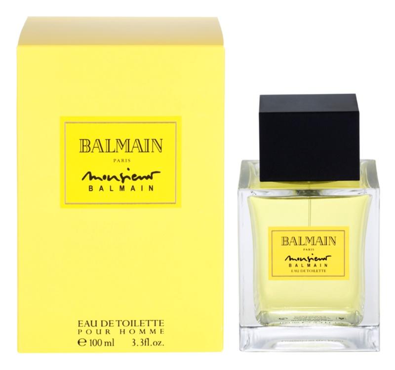 Balmain Monsieur Balmain Eau de Toilette para homens 100 ml