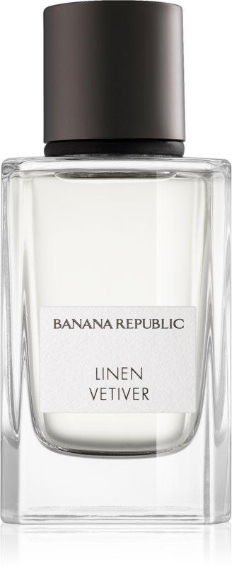 Banana Republic Icon Collection Linen Vetiver eau de parfum mixte 75 ml