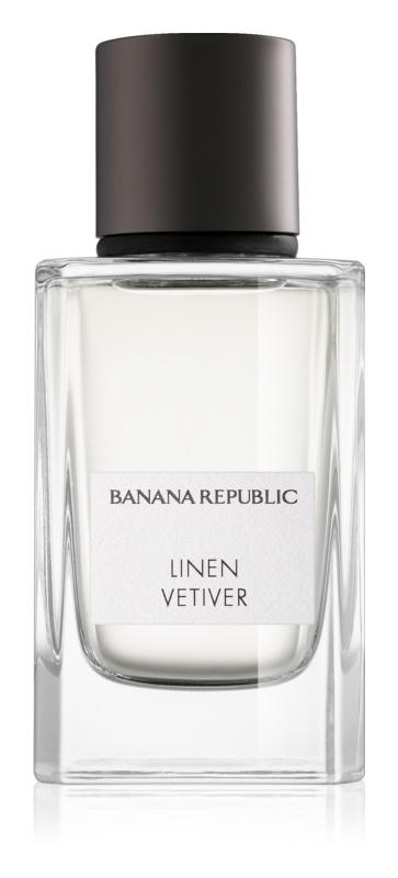Banana Republic Icon Collection Linen Vetiver parfumovaná voda unisex 75 ml