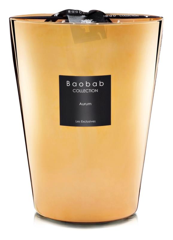 Baobab Les Exclusives Aurum dišeča sveča  24 cm