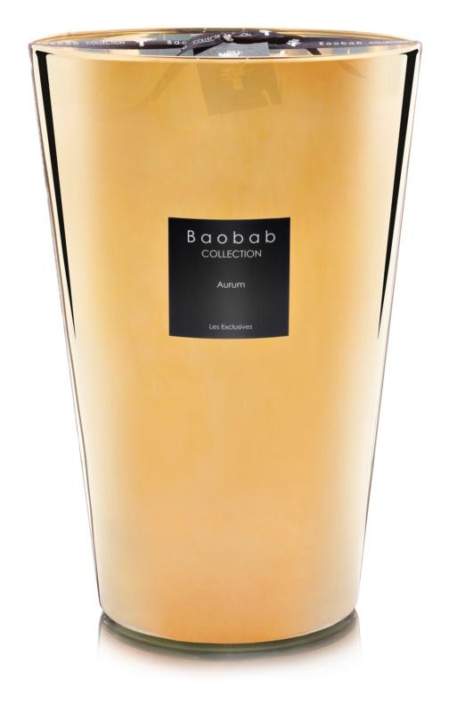 Baobab Les Exclusives Aurum bougie parfumée 35 cm