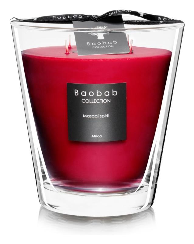 Baobab Masaai Spirit vonná sviečka 16 cm