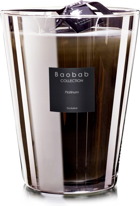 Baobab Les Exclusives Platinum vonná svíčka 24 cm