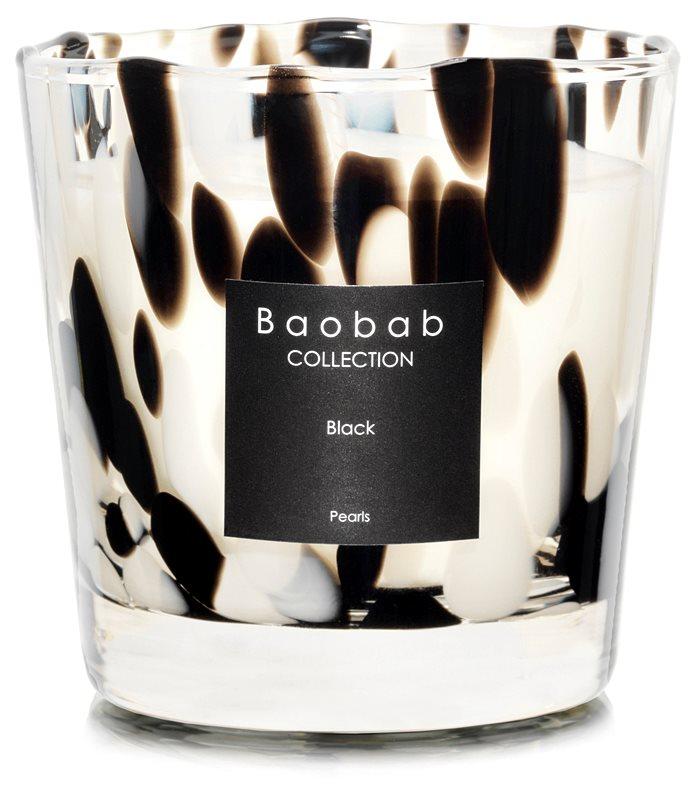 Baobab Black Pearls bougie parfumée 6,5 cm