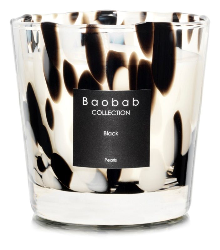 Baobab Black Pearls Scented Candle 6,5 cm