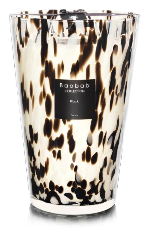 Baobab Black Pearls vonná svíčka 35 cm
