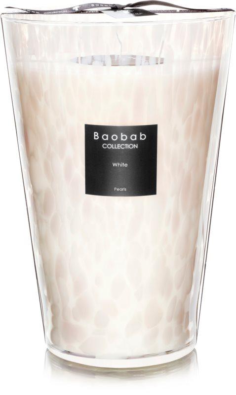 Baobab White Pearls lumânare parfumată  35 cm