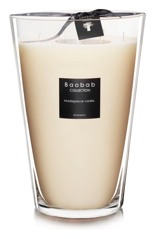 Baobab Madagascar Vanilla candela profumata 35 cm
