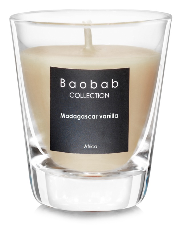 Baobab Madagascar Vanilla vonná sviečka   (votívna)