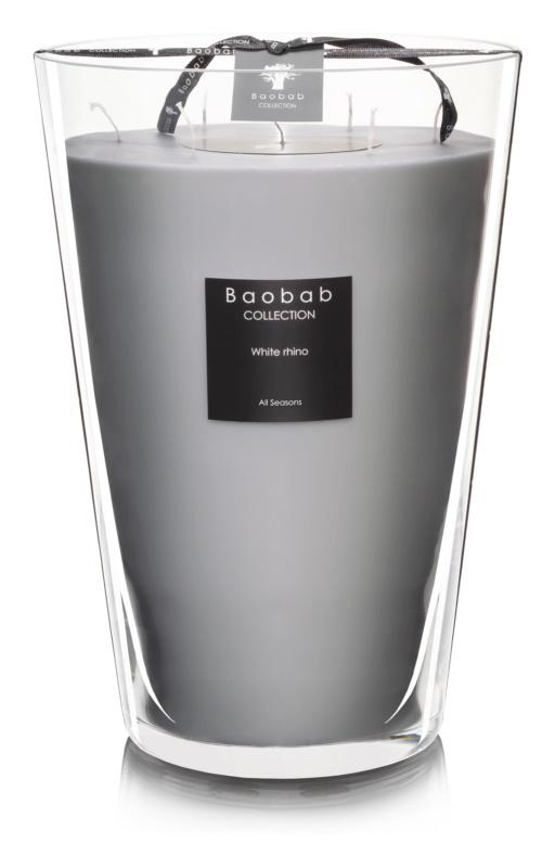 Baobab White Rhino świeczka zapachowa  35 cm