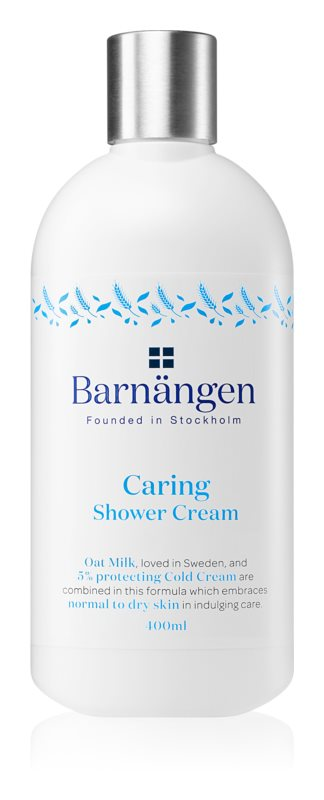 Barnängen Caring κρέμα για ντους για κανονικό και ξηρό δέρμα