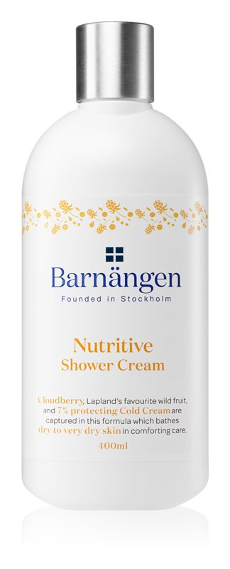 Barnängen Nutritive krem pod prysznic do skóry suchej i bardzo suchej