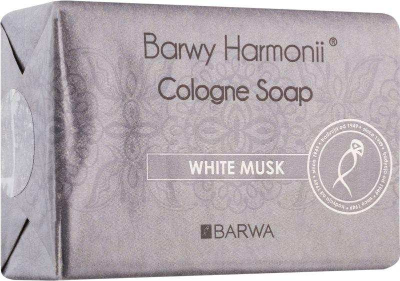 Barwa Harmony White Musk sapun solid cu efect de netezire