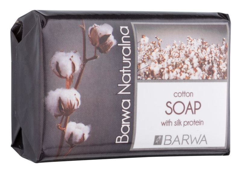 Barwa Natural Cotton Feinseife mit regenerierender Wirkung