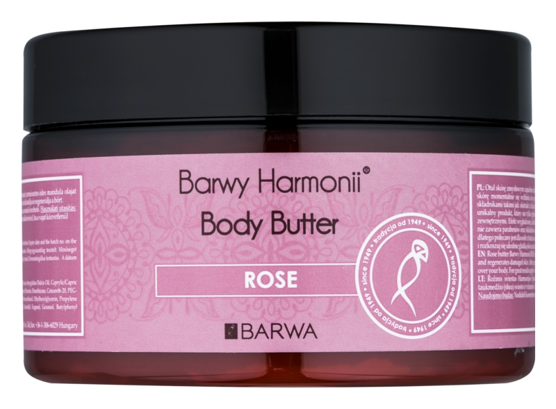 Barwa Harmony Rose Body Butter