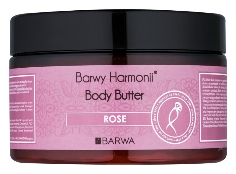 Barwa Harmony Rose masło do ciała