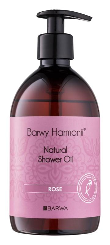 Barwa Harmony Rose olejek pod prysznic bez parabenów