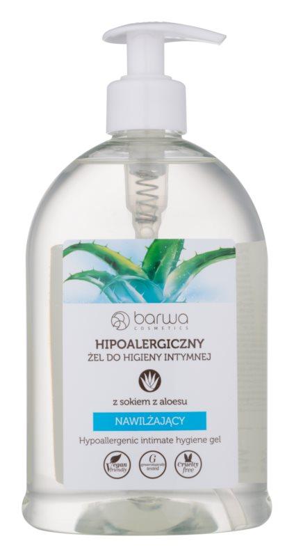 Barwa Natural Hypoallergenic Gel für die intime Hygiene mit feuchtigkeitsspendender Wirkung