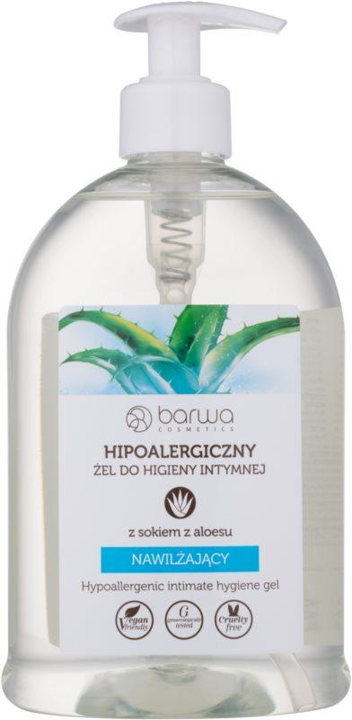 Barwa Natural Hypoallergenic Intiemhygiene Gel  met Hydraterende Werking