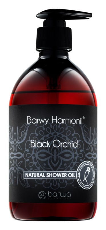 Barwa Harmony Black Orchid naturalny olejek pod prysznic